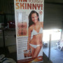 Econo pull up banner